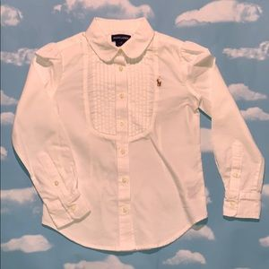 Ralph Lauren Girls Shirt Size 7